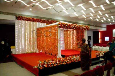 Brahmin wedding stage