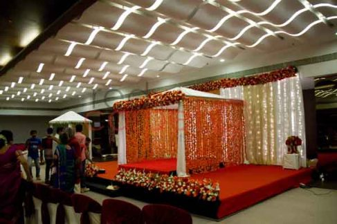 Brahmin wedding decor in cochin kerala