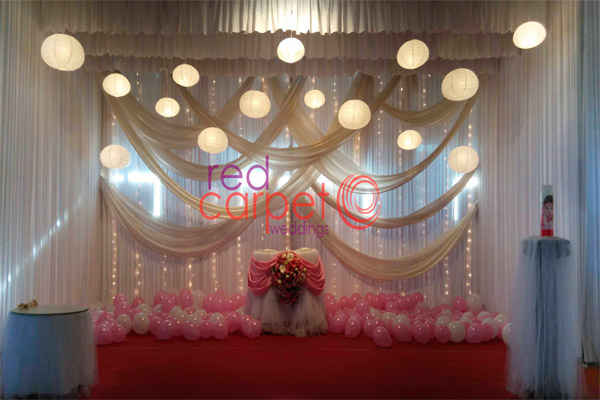 Baptism birthday stage decor pathanamthitta kochi kerala india