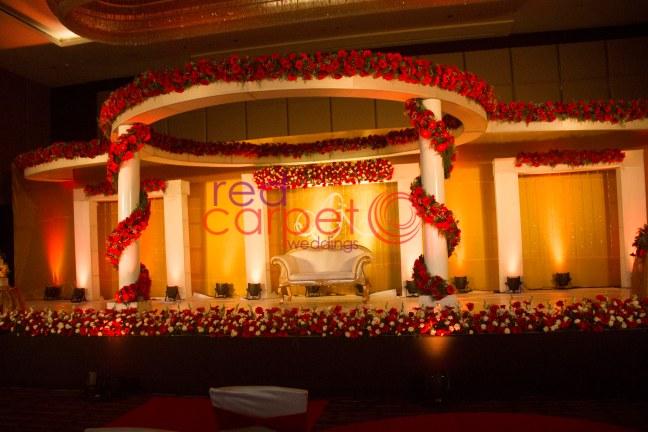 wedding stage goa kerala india