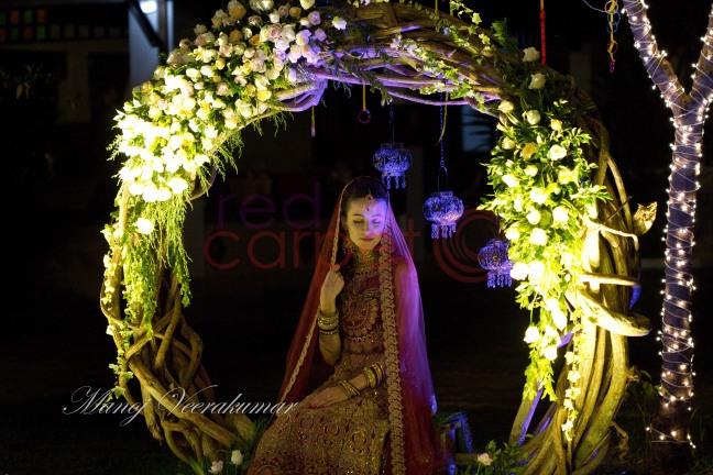 Croatian bride for Indian wedding